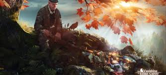This is not an illustration of the Carter Review. It is a still from a video game called 'The Vanishing of Ethan Carter'.